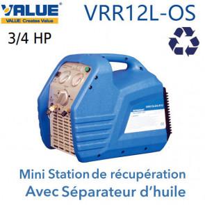 Station de Récupération avec séparateur d'huile VRR12L-OS
