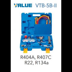 Coffret VTB-5B-II avec By-pass 2 voies complet R134A + coupe tube + dudgeonnière