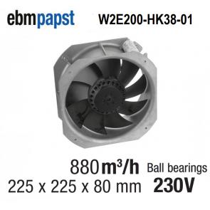 Ventilateur Axial W2E200-HK38-01 de EBM-PAPST