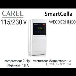 Contrôle électronique pour chambres froides WE00C2HN00 de Carel