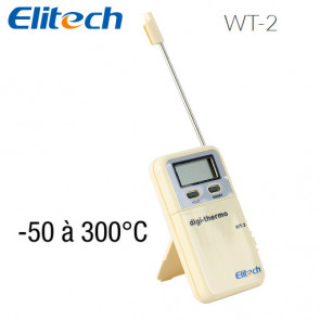 Thermomètre digital WT-2 de Elitech