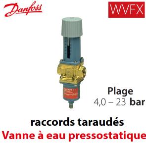 Vanne à eau pressostatique WVFX 15 - 003N2105 Danfoss