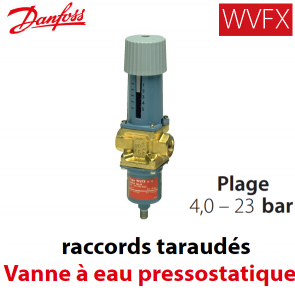 Vanne à eau pressostatique WVFX 20 - 003N3105 Danfoss