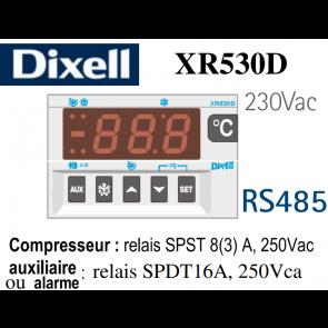 Régulateur digital XR530D-5P0C1 de Dixell