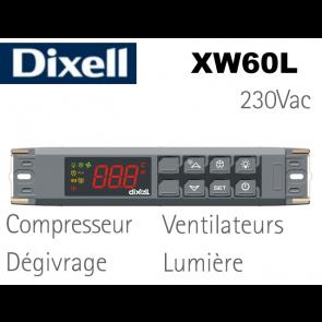 Régulateur XW60L-5L0D0-X de Dixell