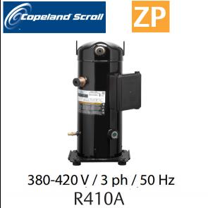 Compresseur COPELAND hermétique SCROLL ZP83 KCE-TFD-422